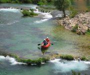 Canyoning and rafting Cetina from Podgora